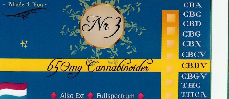 5% Cbd olja Alkoholextraherad Hampa/ Cannabis 1,5% Thc  🇱🇺